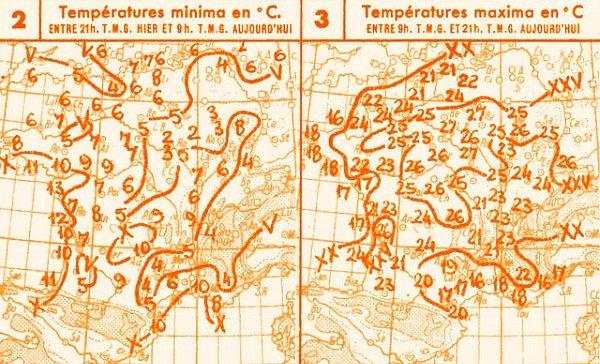 temperatures du 16 avril 1947