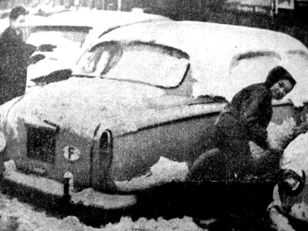 premi�res neiges fin novembre 1962