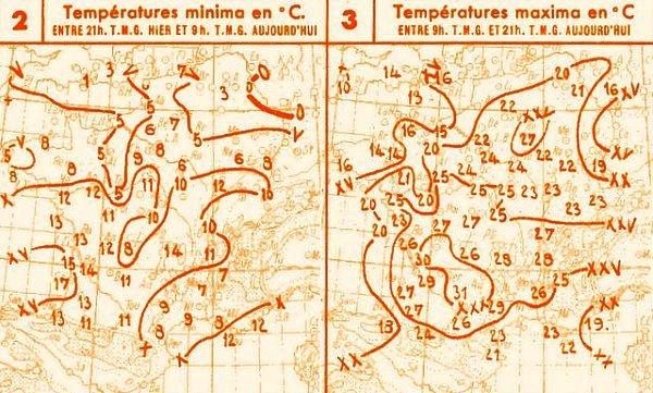 temperatures du 27 avril 1947