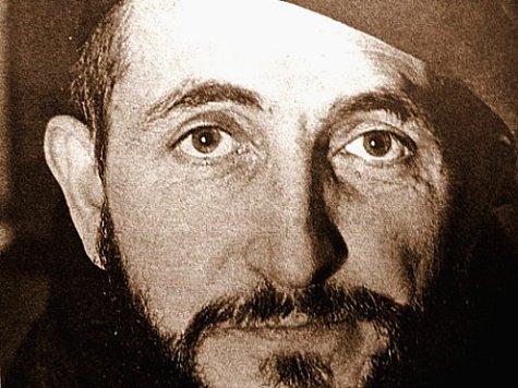portrait de l`Abbe Pierre en 1954