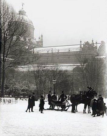 Amsterdam pendant l`hiver 1891