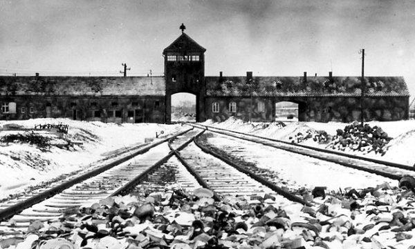 Auschiwtz en janvier 1945