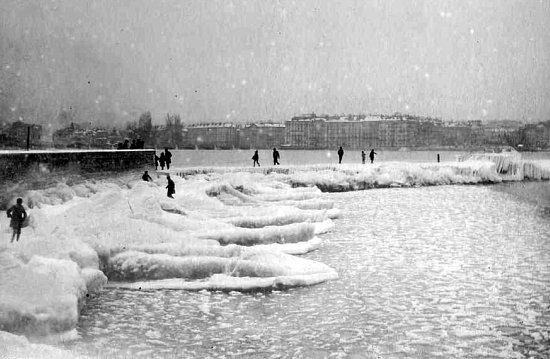 Geneve en janvier 1891