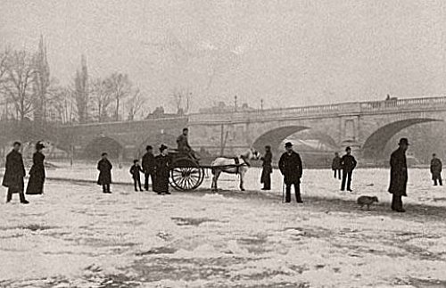 pont de Kingston en fevrier 1895