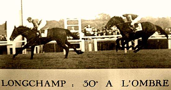 Longchamp en avril 1949