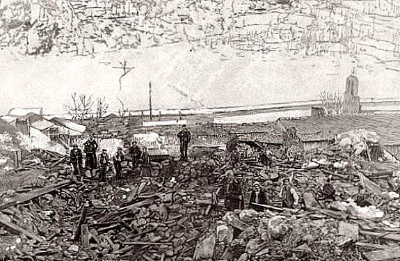 avalanche d`orlu le 3 janvier 1895