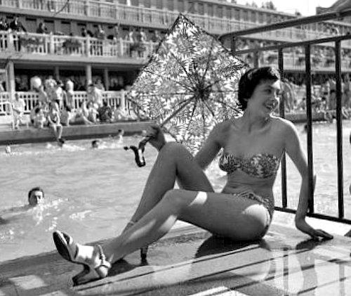 chaleur en aout 1949
