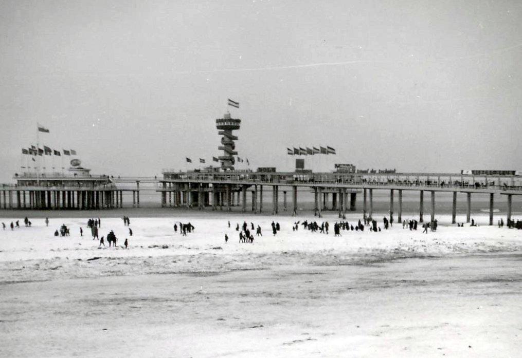 Scheveningen hiver 1962 1963