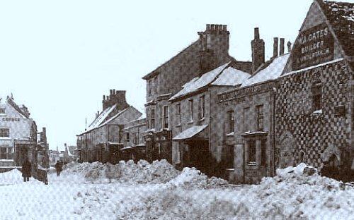 neige en Angleterre en janvier 1881