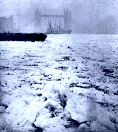 Tower Bridge le 11 fevrier 1895