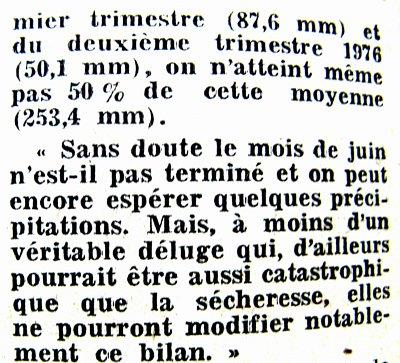 2eme article pluviometrie 1976