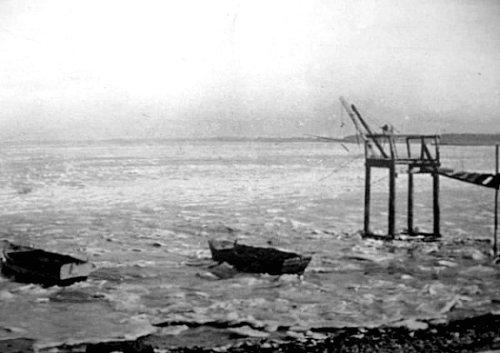 banquise charentaise en janvier 1940