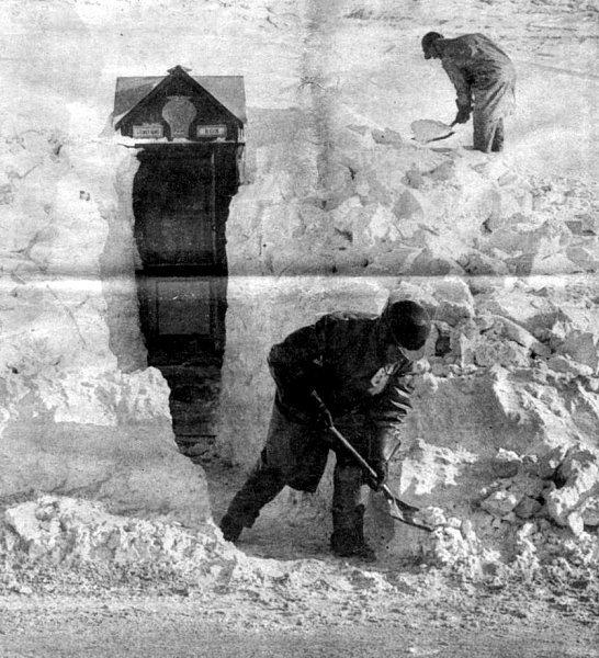 cabine telephonique Angleterre 12 janvier 1963