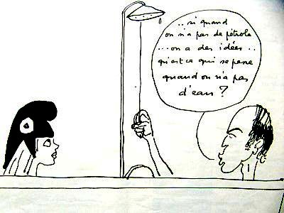 caricature giscard ete 76