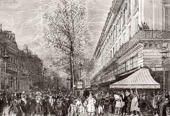 carnaval parisien fin fevrier 1893