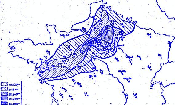 couche maximale de neige début mars 1946