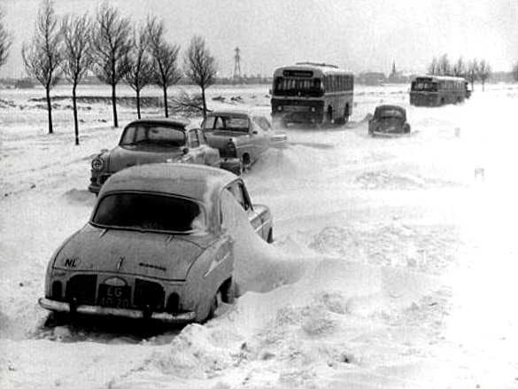 deroute hivernale 1963