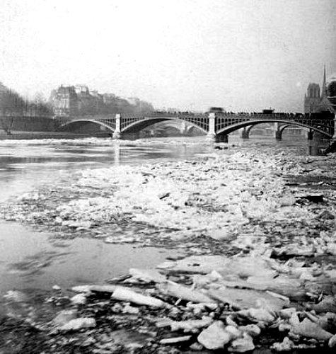 embacle de la Seine en 1891