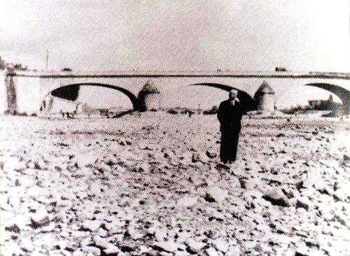 etiage en Loire 1949