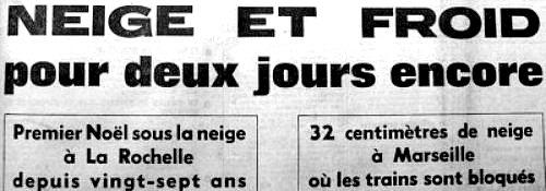 entête d`article sur le froid décembre 62