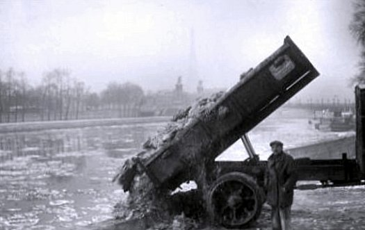 glaces en Seine janvier 1941