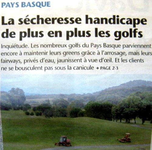 golfs au sec aout 2003