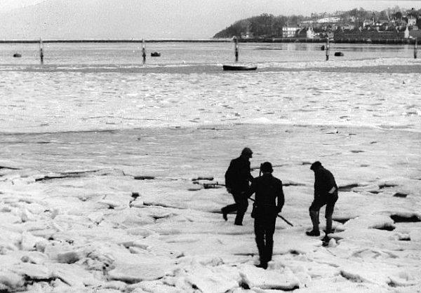 ile de Wight hiver 1962 1963