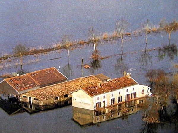 inondations en gironde