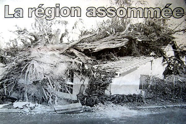 la region sud-ouest assommee