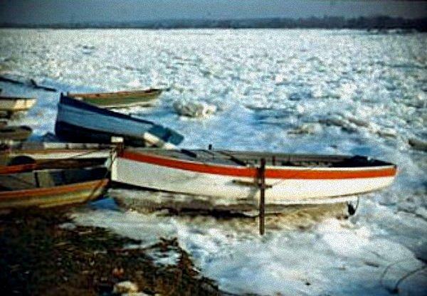 embacle de la loire hiver 1954