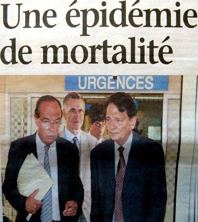 Ministre de la Sante après la canicule d'août 2003 météopassion