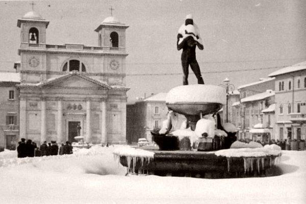 Italie en fevrier 1956