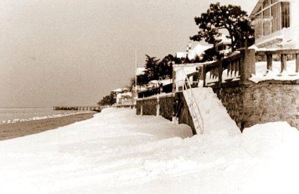 plage Arcachon 1956