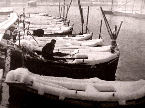 port de Marseille en janvier 1941
