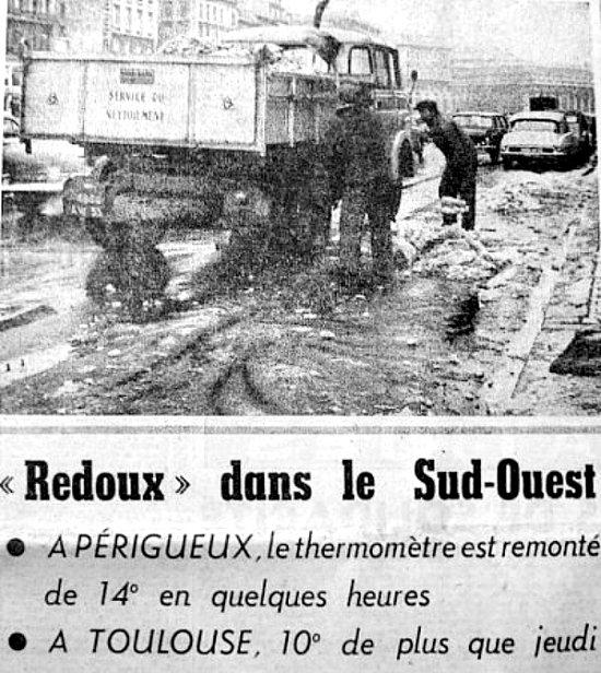 le redoux en janvier 63