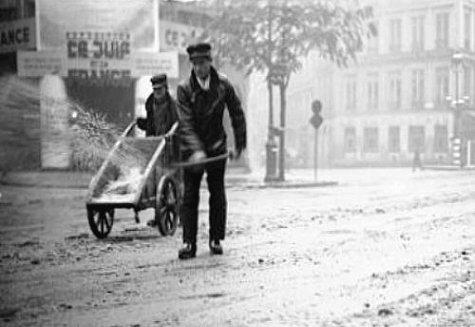 sablage en novembre 1941