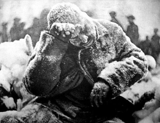 soldat russe gele en decembre 1940