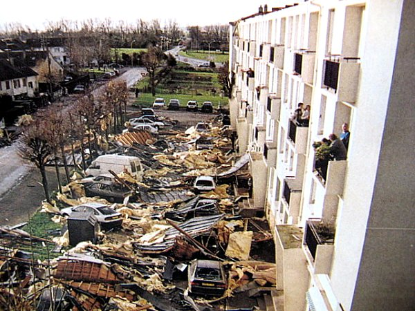 toitures envolees lothar 1999